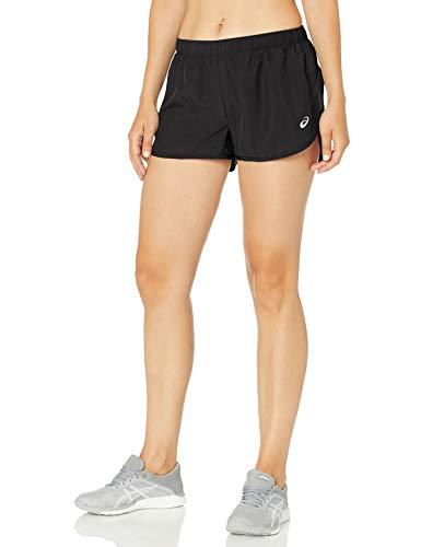 ASICS Silver Split Short, Performance Black, Large