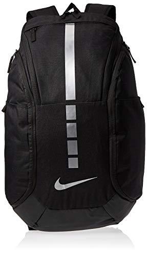 Nike 38 Ltrs Black/Black/Mtlc Cool Grey Casual Backpack (BA5554-011), medium