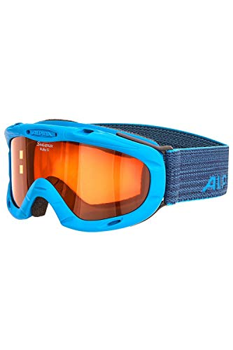 ALPINA Kinder Skibrille Kids Ruby S OneSize darkblue-Blue