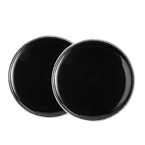 XIAOFANG 10-Zoll-Schwarz Drum Fell Haut Drum Haut fit for Drum Kit DIY Ersatz Zubehör (Color : 16.2 6.1cm)