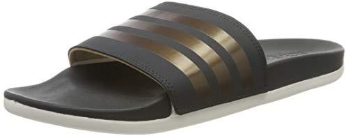 adidas Damen Adilette Comfort Dusch- & Badeschuhe , Mehrfarbig (Grisei/Cobmet/Blapur 000) , 40 2/3 EU