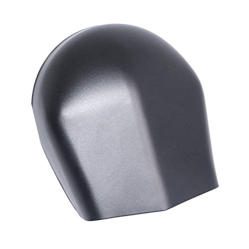 XMMT Matte Black Steel Horn Cover Compatible For Harley Davidson Touring Models 1993-2018