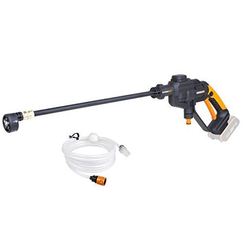 WORX WG620E.9 Hydroshot-pulitore ad alta pressione portatile con ugello multiplo, tubo da 6 m, senza batteria o caricatore