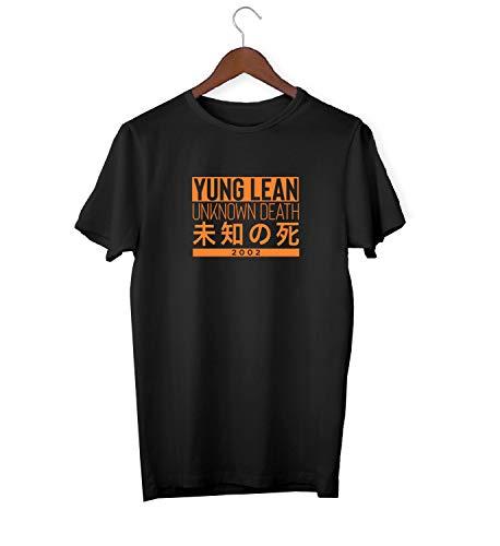 Yung Lean Random Unknown Death China 2002_KK016874 Shirt T-Shirt Tshirt for Men Für Männer Herren Gift for Him Present Birthday Christmas - Men's - 2XL - White