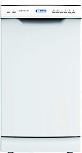 Delonghi WMD13 Freestanding Dishwasher – 6 Wash Programs & Half Load Ability