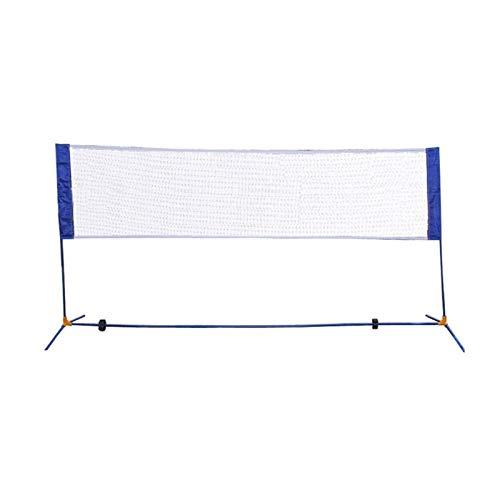 KKLL 10'X5' Portable Height Adujstable Badminton Volleyball Tennis Net Set Equipment