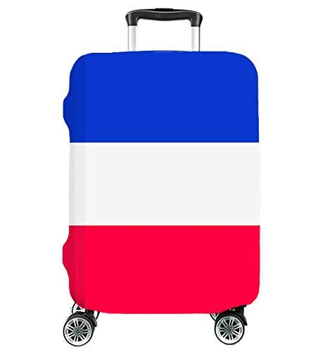 Zeer elastische reis-kofferbeschermer vlag afdekking beschermende afdekking kofferhoes kofferhoes groot 27
