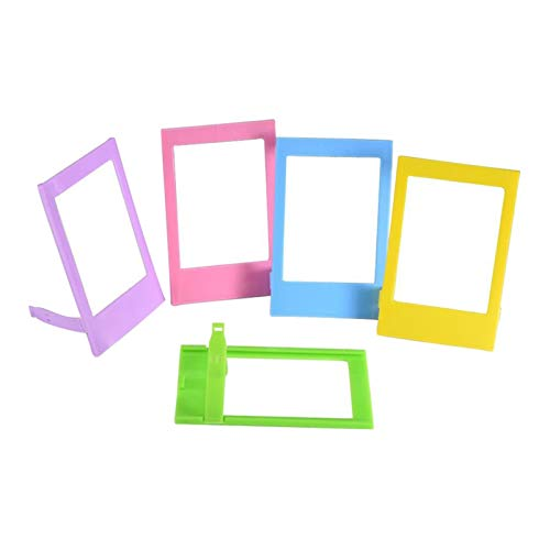 HUIHU Set of 5 3 Inch Table Top Photo Frame-Default