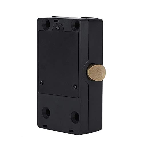 Tosuny Cerradura Inteligente Bluetooth, Cerradura de contenedor no tripulada con Manual en inglés, Cerradura de gabinete para cajones, Armario, Vitrina, Cerradura de Puerta.