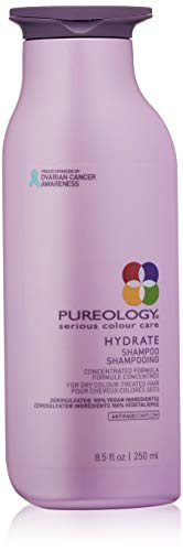 Pureology | Hydrate Moisturizing Shampoo | For Medium to Thick Dry Color Treated Hair | SulfateFree | Vegan |
