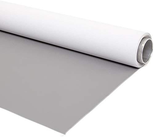 Fondo de Vinilo Reversible Gris-Blanco 175x450cm