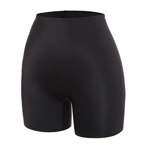 PJPPJH Shorts de ioga de segurança, calça de segurança anti-atrito sob a saia, shorts invisíveis, roupa íntima feminina sem costura, ultrafina, confortável e com controle suave