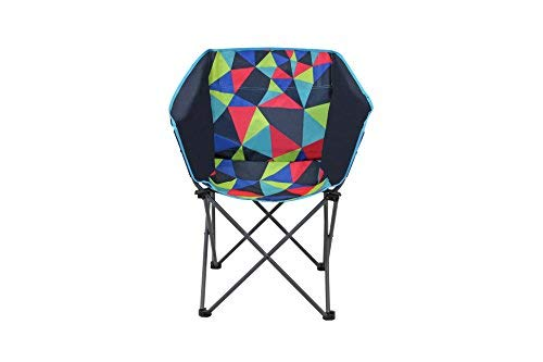 Portal Outdoor Unisex's Electro Fusion Festival Foldable Camping Chair, Setup, UV Resistant and Easy To Clean – with Free Storage Bag, One Size