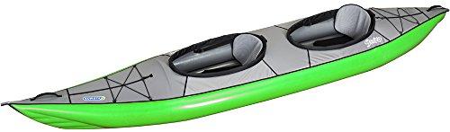 Gumotex Swing II 2 Personen Schlauchkajak aufblasbar Schlauchboot Cockpit, Farbe:Rot