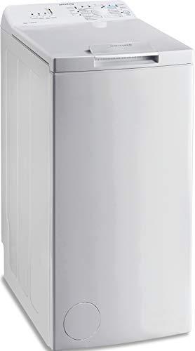 Privileg PWT L50300 DE/N Toplader Waschmaschine / 5 kg / 1000 UpM/Turn&Go/Rapid Wash/Extra Waschen/Startzeitvorwahl/Wolle-Programm/Energy Saver/Mehrfachwasserschutz+, Weiß