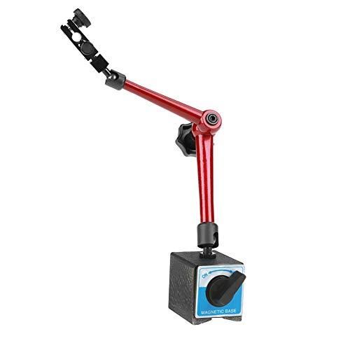Ejoyous Base di misurazione Magnetica Regolabile, Supporto Magnetico per comparatore, Staffa Supporto Base Magnetica Universale con bloccaggio Centrale Strumento di ingegneria Meccanica da 350 mm