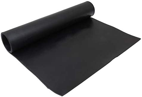 Black Rubber Sheet Plate Neoprene Solid Rubber Heat Resistant Gasket Pad for Plumbing Gaskets product image