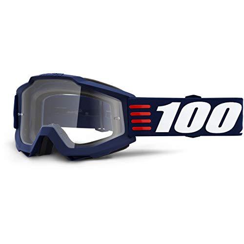 100 Percent ACCURI Goggle Art Deco-Clear Lens Gafas de protección, Adultos Unisex,...