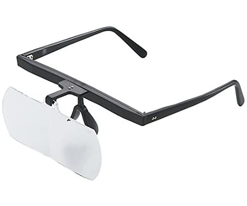 クリアー光学 メガネ型ルーペ 1.6倍 LH-30D