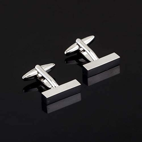 LZWJD Fashion Engraved Check Sudoku Design Cufflink 18 Style for Mens Brand Cuff Buttons Cuff Links Jewelry (Color : 6)
