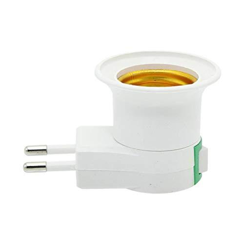 Yousiju 4 Stück elektronische Moskito-Killer-Lampe E27 9W LED-Glühbirnen Hauptbeleuchtung Schlafzimmer Anti-Moskito-Lichter (Size : EU Lamp Holder)
