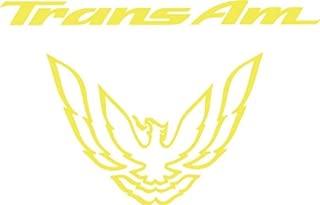 Graphicsplus123 Pontiac Trans Am Tail Light Decal 93-02 (Yellow)
