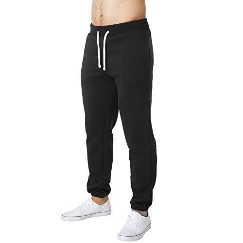 Charles Wilson Pantalones de Jogging de Felpa para Hombre