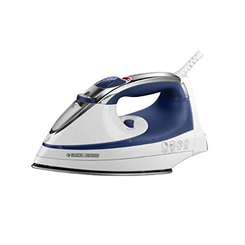 Why Choose Black & Decker IR1070S Steam Advantage Nonstick Stainless Steel Iron, White/Blue