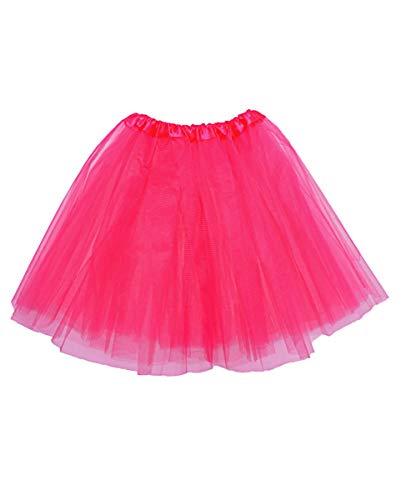 Horror-Shop Pinkes Ballerina Tutu als Kostüm Zubehör für Kinder