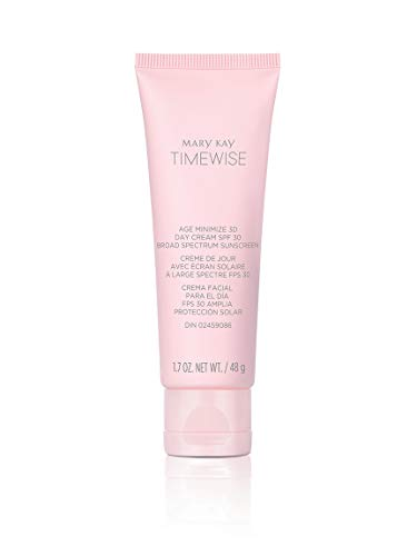 MARY KAY TIMEWISE AGE MINIMIZE 3D DAY CREAM SPF 30 BROAD SPECTRUM SUNSCREEN 1.7 OZ.SKIN NORMAL/DRY