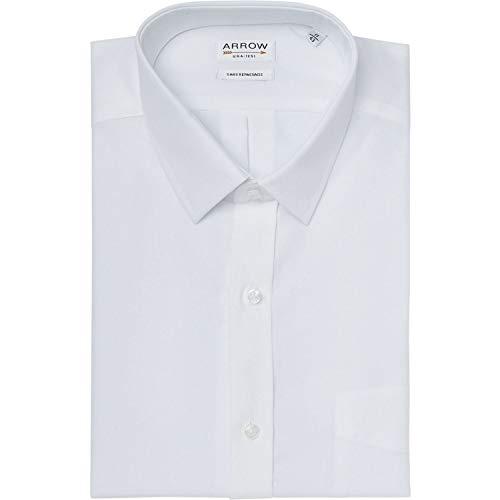 Arrow Hemd Comfort Fit ohne Bügeln weiß Gr. 38, weiß