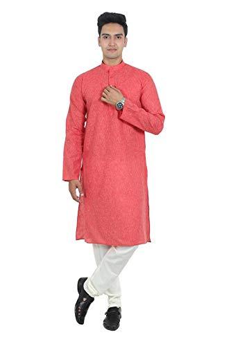 BENSTOKE Men's Cotton kurta Pyjama Set