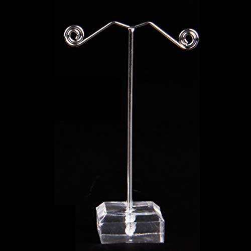 SMEJS Soporte de exhibición de Pendiente de Metal de Hierro Forjado de acrílico, Pendientes de Soporte de Pendiente Pantalla de Pendiente (Size : Medium)