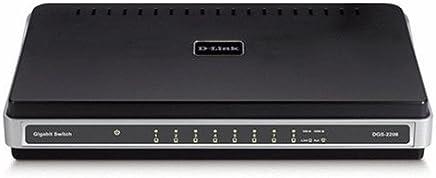 D-Link DGS-2208 8-Port 10/100/1000 Desktop Switch [並行輸入品]