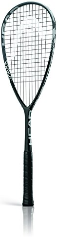 Head Spark Tour - Raqueta de Squash Unisex, Color Negro