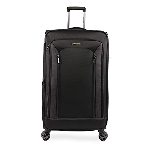 Brookstone Luggage Elswood Spinner Suitcase, Black, Check-in (29-Inch)