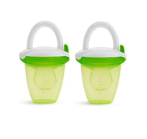 Munchkin Baby Food Feeder, Green, 2 Pack
