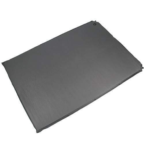 [クイックキャンプ] 車中泊マット 5cm 厚手 ダブルサイズ グレー QC-CMD5.0a エアー インフレーターマット アウトドア用寝具 車中泊グッズ