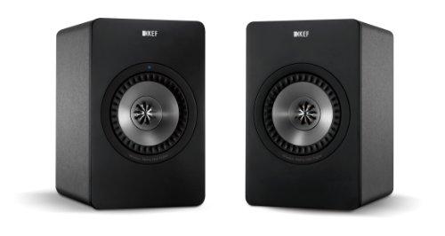 KEF X300A Wireless Digital Hi-Fi Speaker - Gunmetal