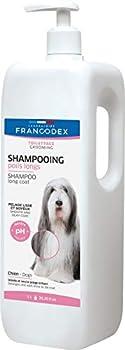 Francodex Shampooing Spécial Poils Long pour Chien 1 L