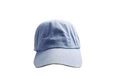 7X Accessoryo - Bonnet de Style de Baseball Denim Bleu Unisexe