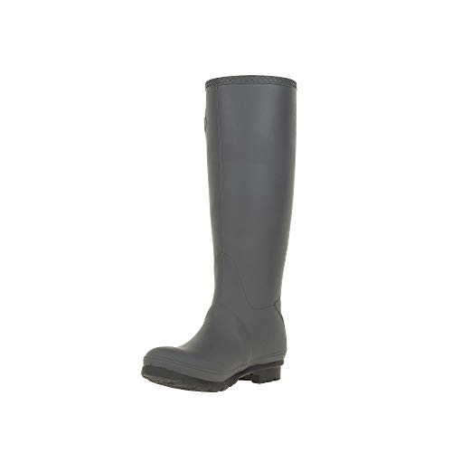 Kamik womens Jennifer Rain Boot Charcoal 7 Medium US