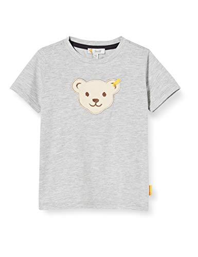 Steiff Jungen T-Shirt, Weiß (Bright White 9007), 92