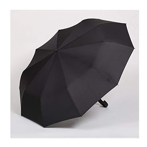 Paraplu winddicht, opvouwbaar, volautomatisch, business stijl, volwassenen man, zwart, drievoudig gevouwen, zonnescherm