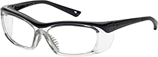OnGuard Safety Eyewear OG 220S Nylon Frames Goggles Black / Clear 55mm-15mm-130mm Small