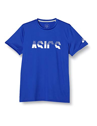 [アシックス] トレーニングウエア CROPPED ASICS半袖シャツ 2031C220 メンズ 401(アシックスブルー) 日本 XL (日本サイズXL相当)