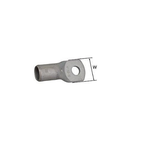 Elpress 400200266 Terminales Tubulares de Cobre KR y KRD, 6 mm² Sección del Conductor, 6 mm Diámetro de Tornillo, 10 mm Anchura, Juego de 100