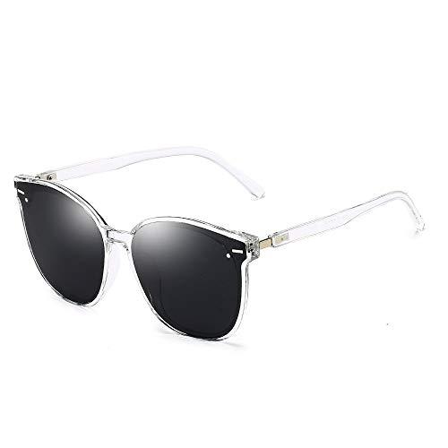 YIWU Brillen Neue Sonnenbrille Koreanische Version GM Damen Sonnenbrille Metall Reis Nagel Sonnenbrille Retro Runde Rahmen Männer Brille Großhandel Brillen & Zubehör (Color : 3)