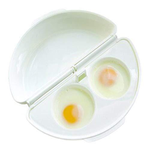 GUMEI Horno para Hacer Tortillas para microondas Bandeja para Hacer Tortillas para Huevos Olla para Huevos Molde de Cocina para Cazador furtivo