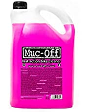 Muc-Off 907US Nano-Tech Bike Cleaner, 5 Litre - Fast-Action, Biodegradable Bicycle Cleaning Fluid - Safe On All Surfaces And Suitable For All Types Of Bike
